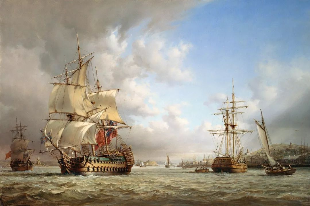 海洋艺术,捷克裔加拿大画家杜尚·卡德莱克插图13