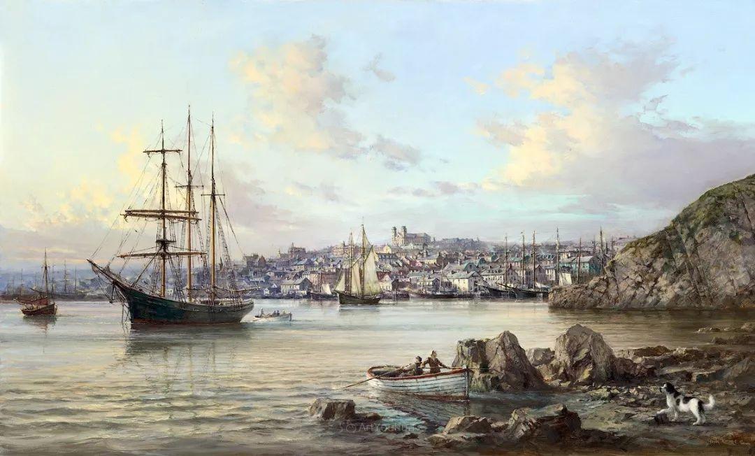 海洋艺术,捷克裔加拿大画家杜尚·卡德莱克插图15