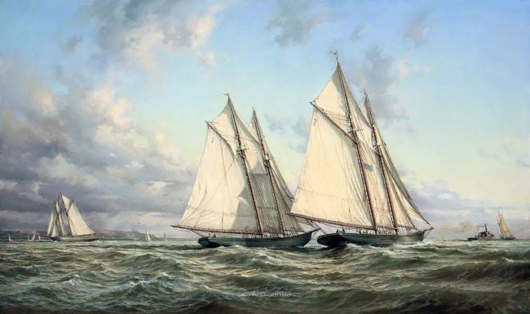 海洋艺术,捷克裔加拿大画家杜尚·卡德莱克插图21