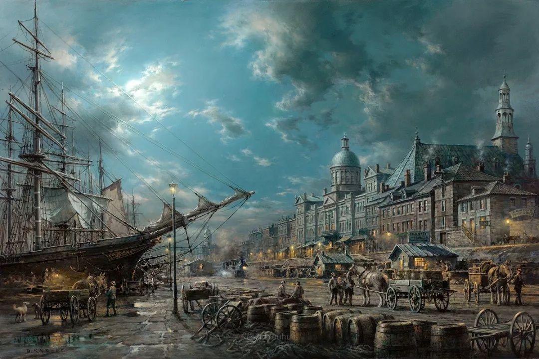 海洋艺术,捷克裔加拿大画家杜尚·卡德莱克插图23