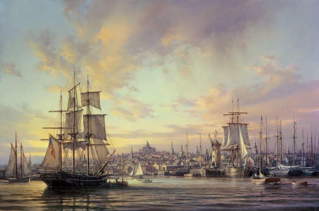 海洋艺术,捷克裔加拿大画家杜尚·卡德莱克插图25
