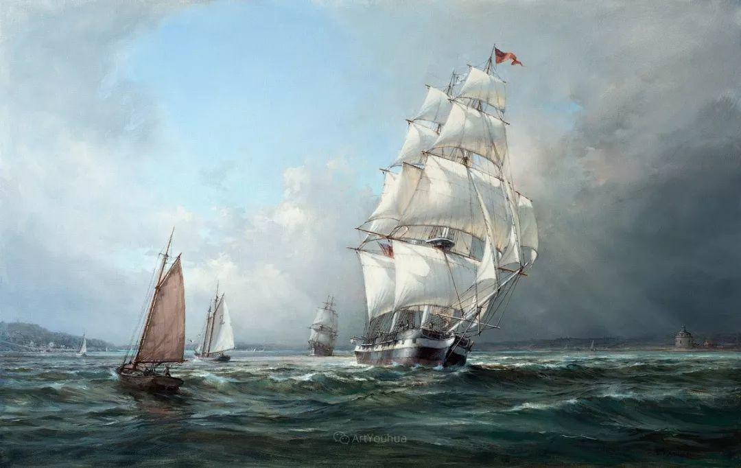 海洋艺术,捷克裔加拿大画家杜尚·卡德莱克插图33