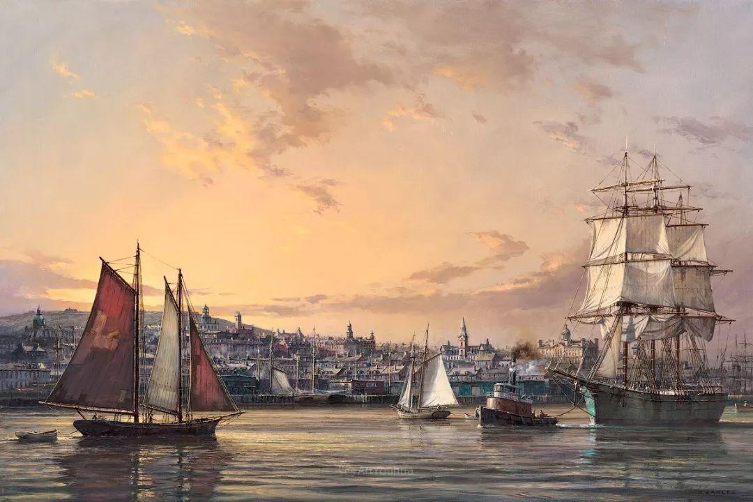 海洋艺术,捷克裔加拿大画家杜尚·卡德莱克插图41