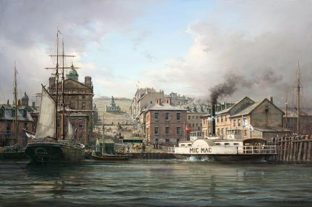 海洋艺术,捷克裔加拿大画家杜尚·卡德莱克插图45