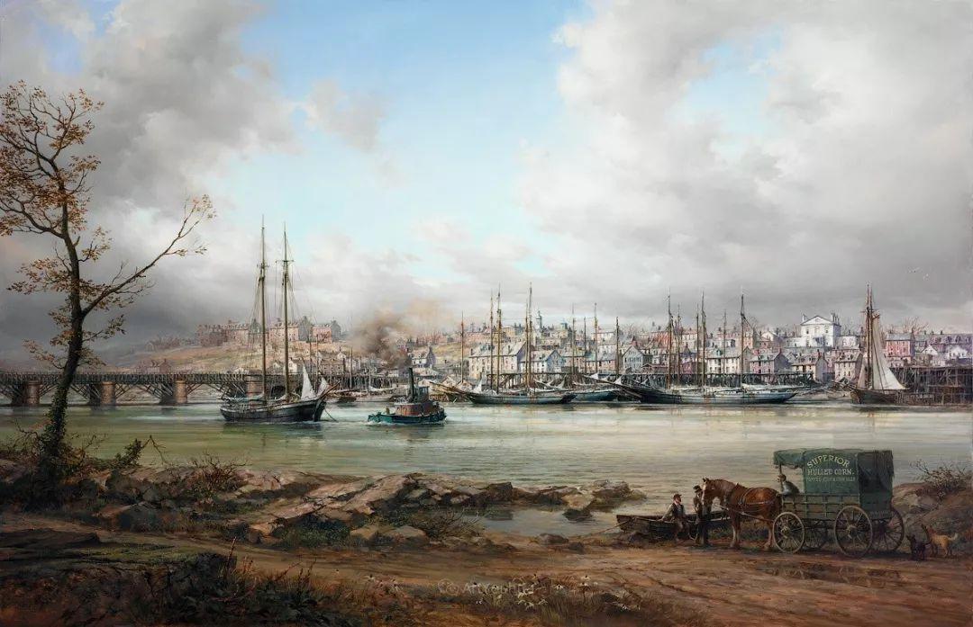 海洋艺术,捷克裔加拿大画家杜尚·卡德莱克插图49