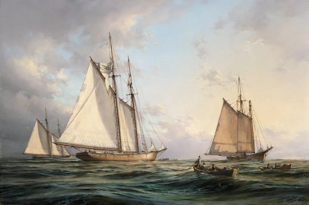 海洋艺术,捷克裔加拿大画家杜尚·卡德莱克插图51
