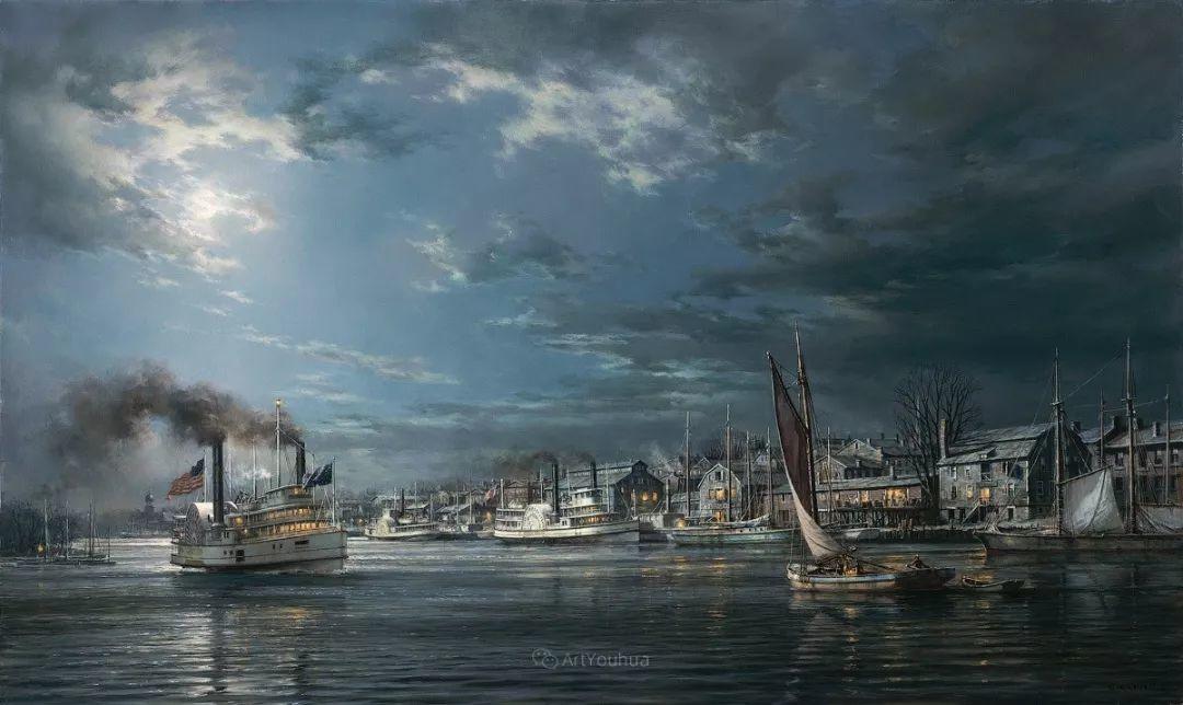 海洋艺术,捷克裔加拿大画家杜尚·卡德莱克插图59