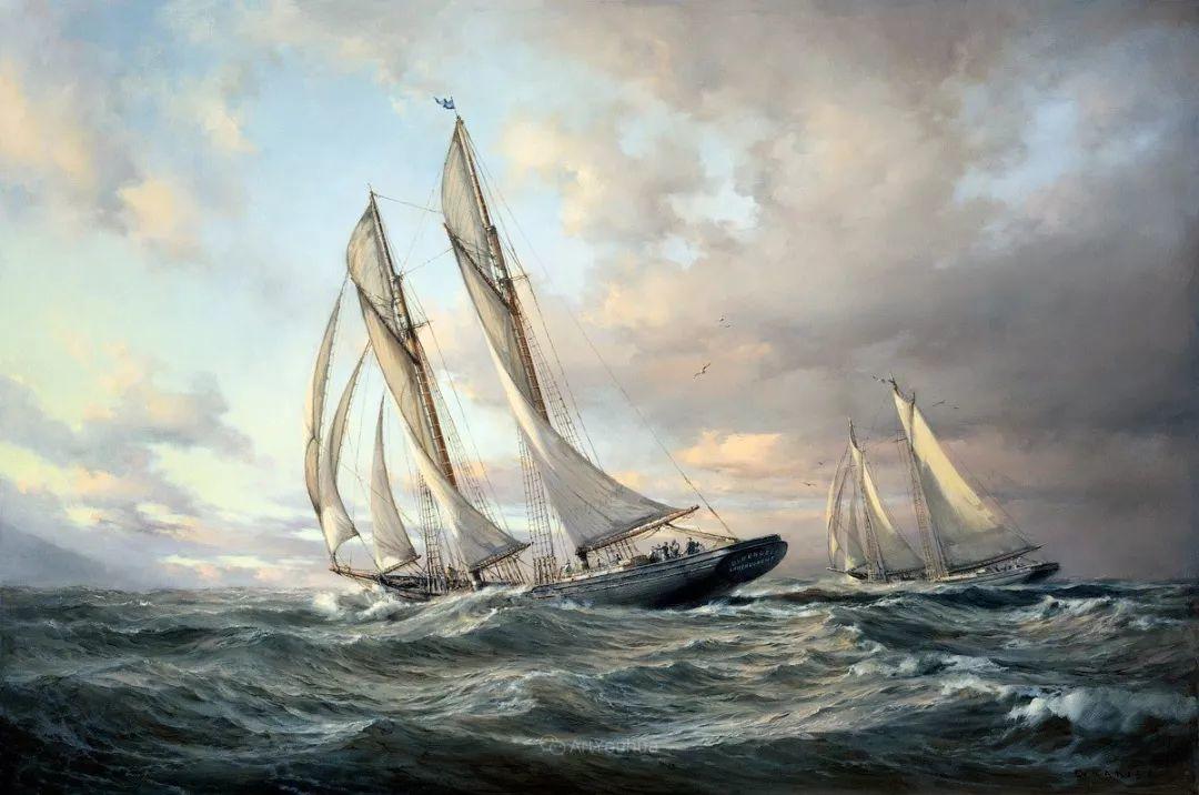 海洋艺术,捷克裔加拿大画家杜尚·卡德莱克插图61