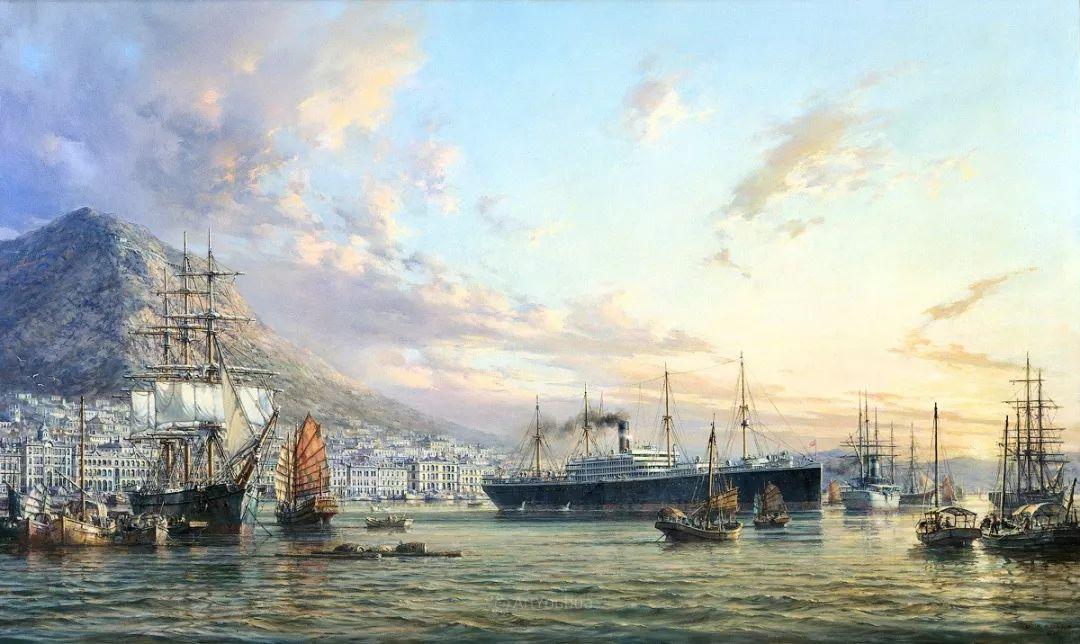 海洋艺术,捷克裔加拿大画家杜尚·卡德莱克插图65