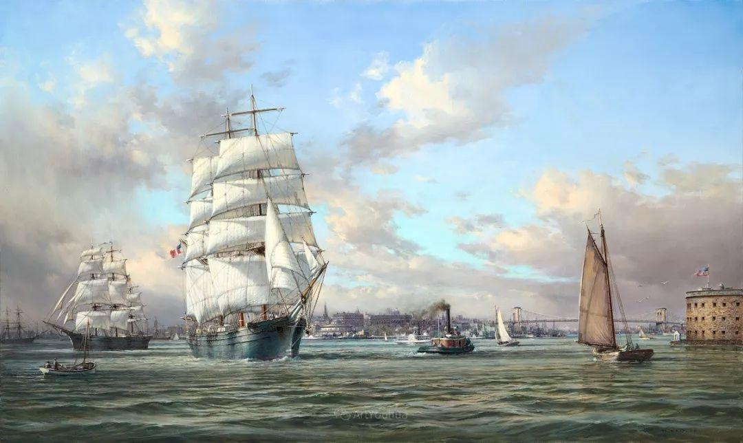 海洋艺术,捷克裔加拿大画家杜尚·卡德莱克插图69