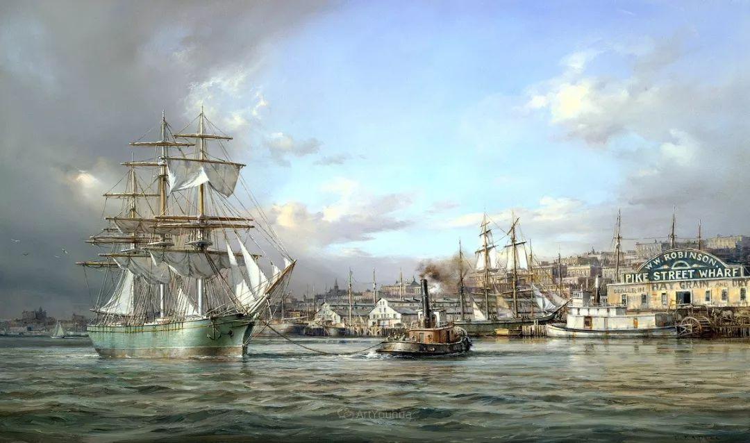海洋艺术,捷克裔加拿大画家杜尚·卡德莱克插图73