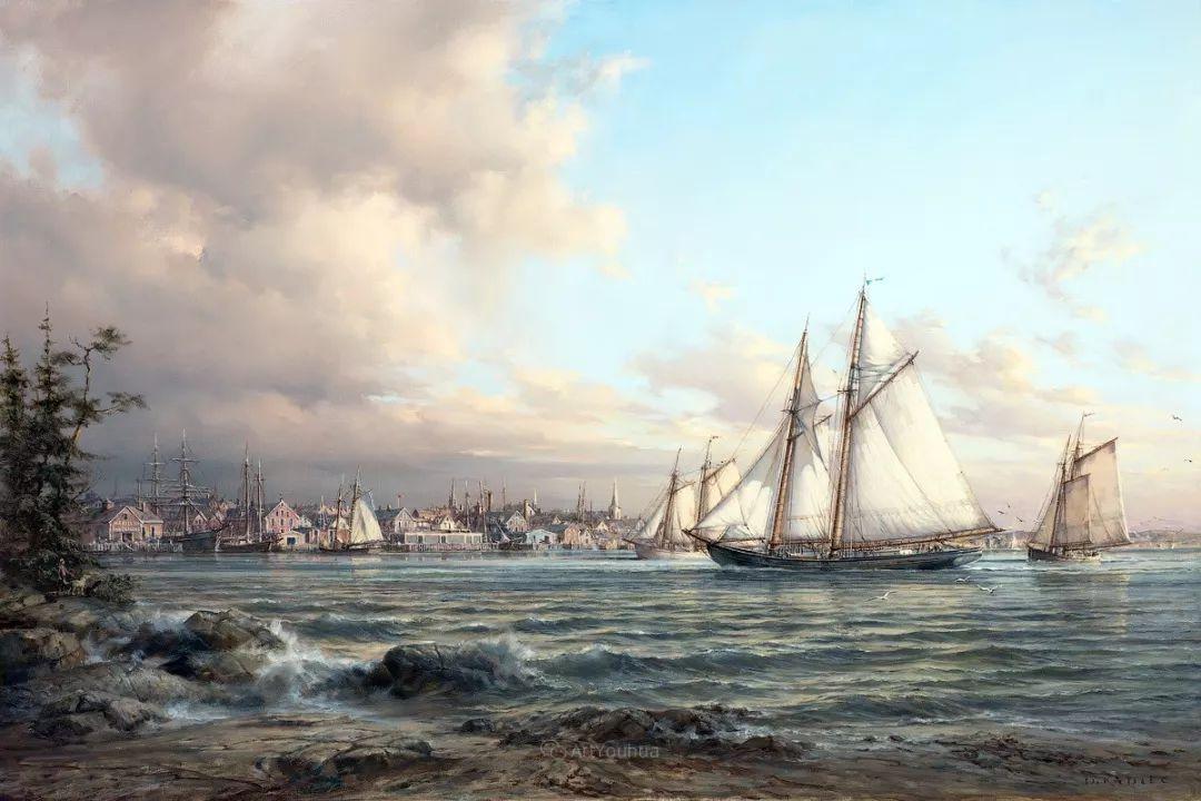 海洋艺术,捷克裔加拿大画家杜尚·卡德莱克插图75