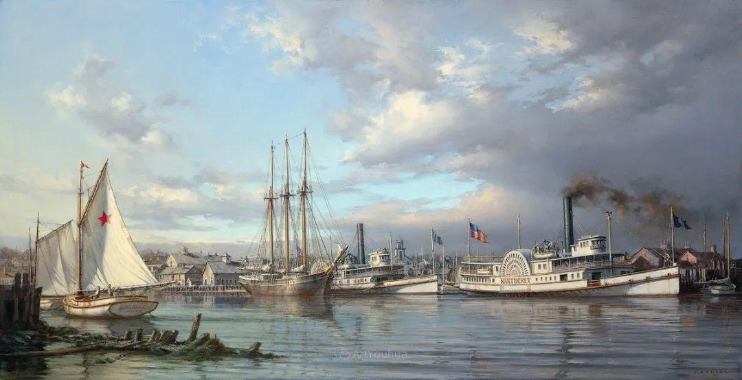 海洋艺术,捷克裔加拿大画家杜尚·卡德莱克插图79