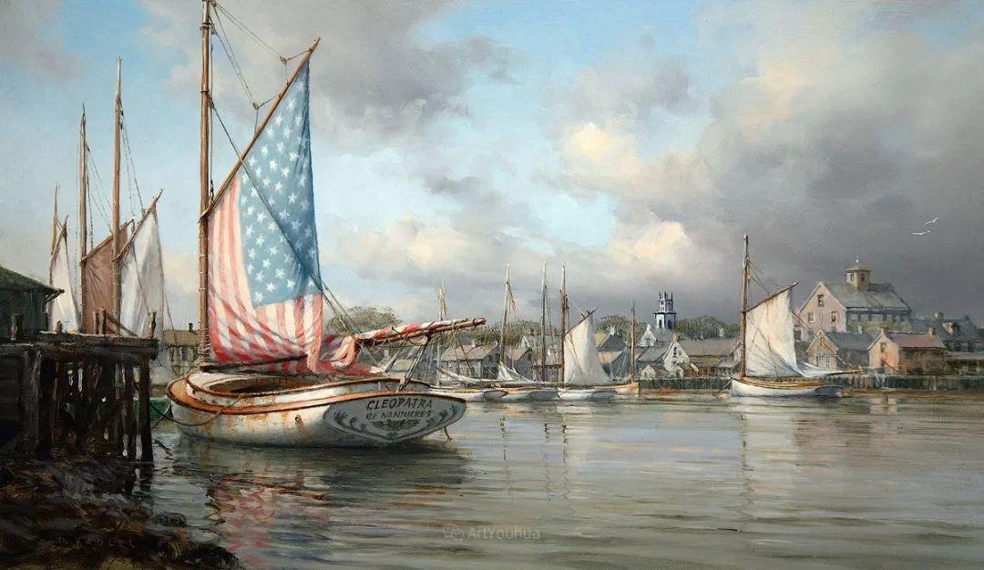 海洋艺术,捷克裔加拿大画家杜尚·卡德莱克插图90