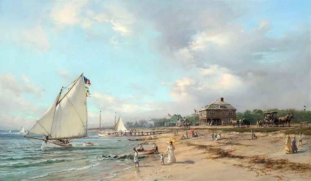 海洋艺术,捷克裔加拿大画家杜尚·卡德莱克插图96