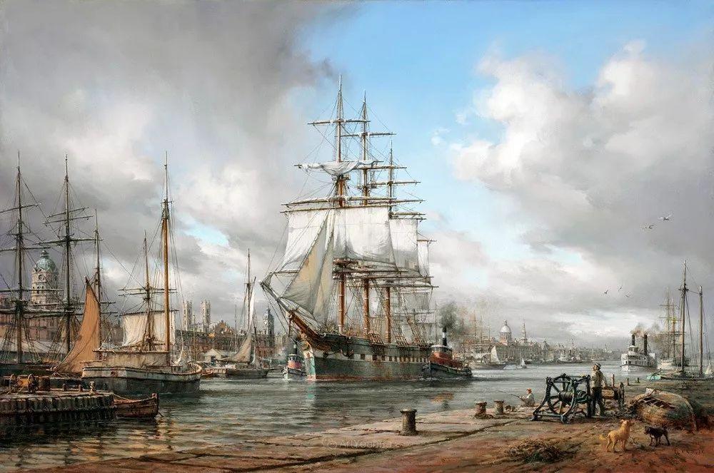 海洋艺术,捷克裔加拿大画家杜尚·卡德莱克插图98