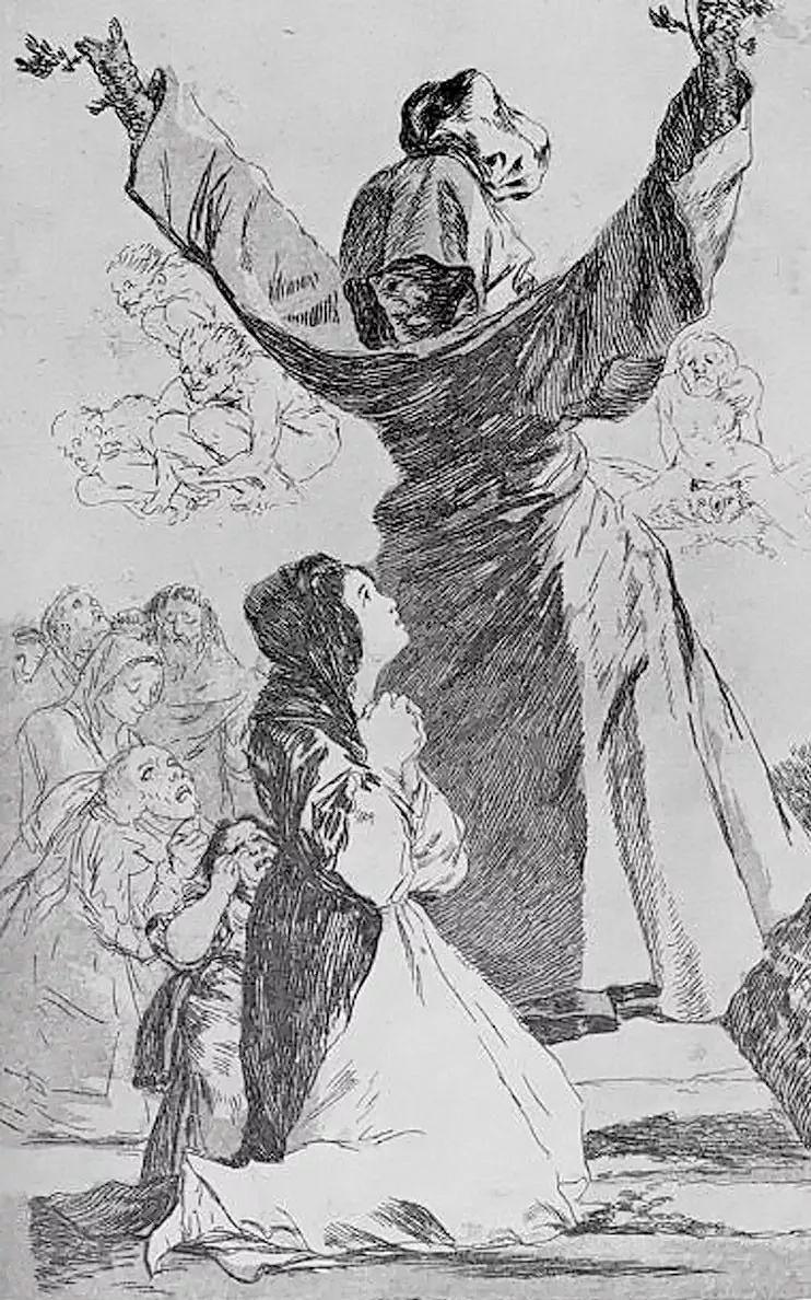 画风奇异的天才戈雅,画作震撼,他被称为浪漫主义最后的大师!插图9