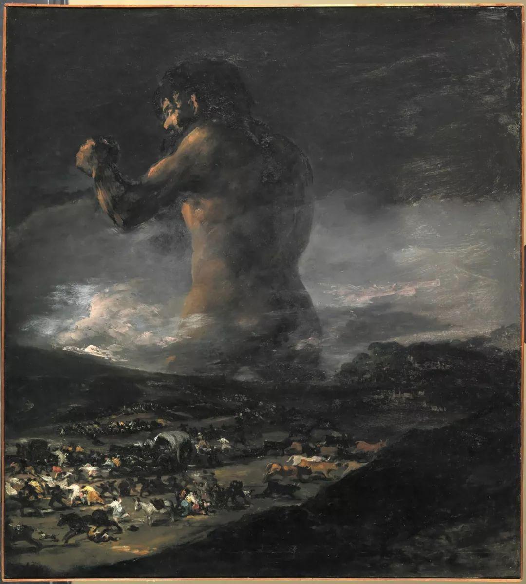 画风奇异的天才戈雅,画作震撼,他被称为浪漫主义最后的大师!插图189