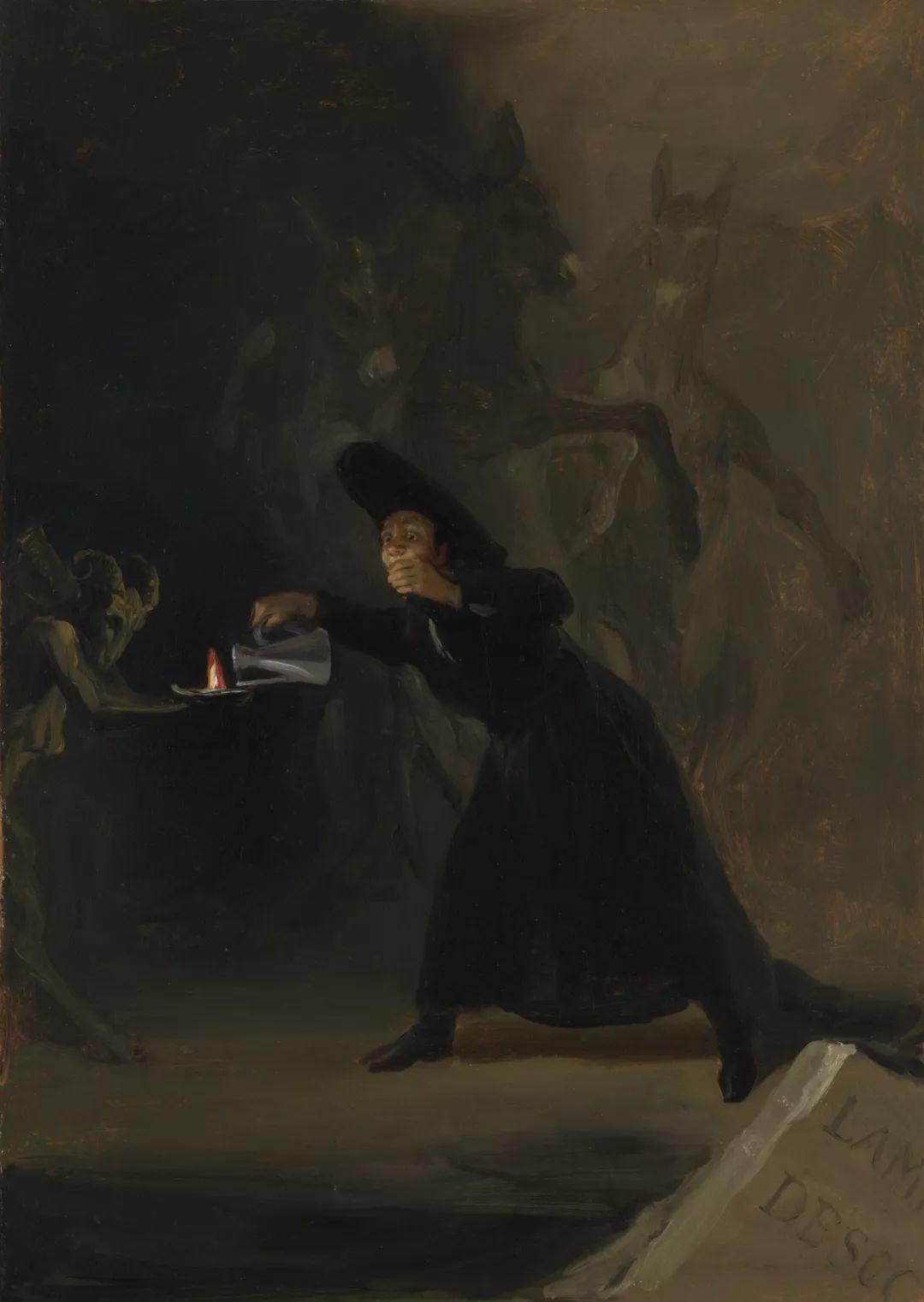 画风奇异的天才戈雅,画作震撼,他被称为浪漫主义最后的大师!插图193