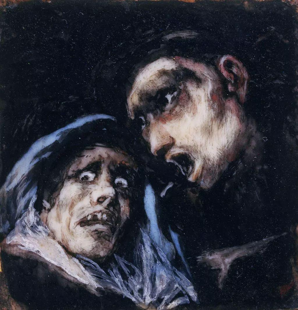 画风奇异的天才戈雅,画作震撼,他被称为浪漫主义最后的大师!插图195