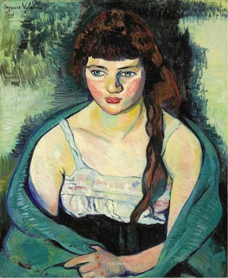 法国美术家协会第一个女性成员——苏珊娜·瓦拉东插图1