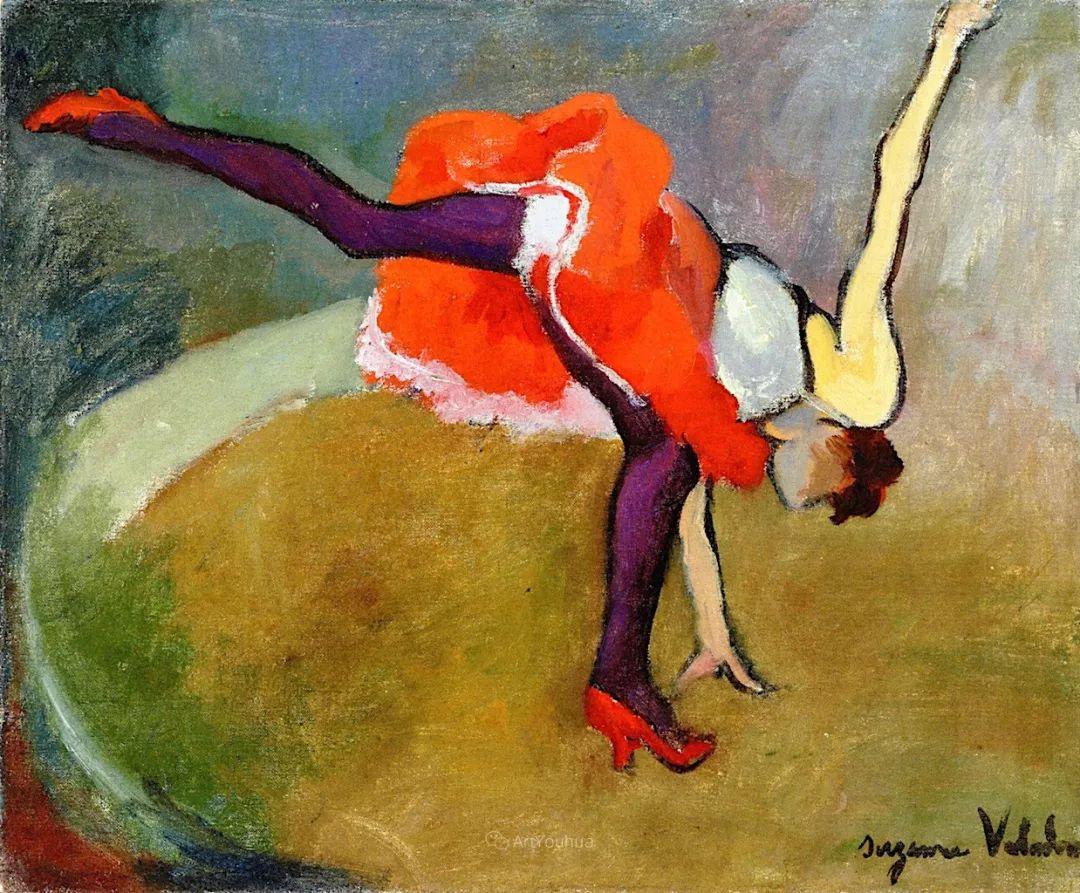 法国美术家协会第一个女性成员——苏珊娜·瓦拉东插图5