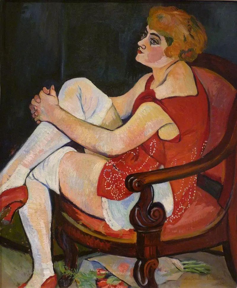 法国美术家协会第一个女性成员——苏珊娜·瓦拉东插图7