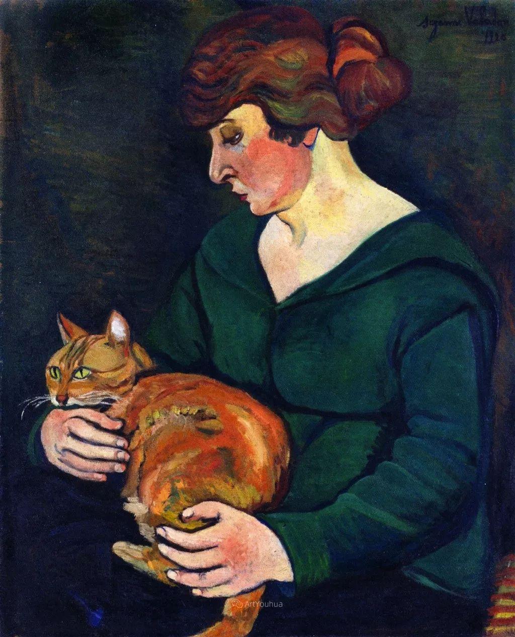 法国美术家协会第一个女性成员——苏珊娜·瓦拉东插图13