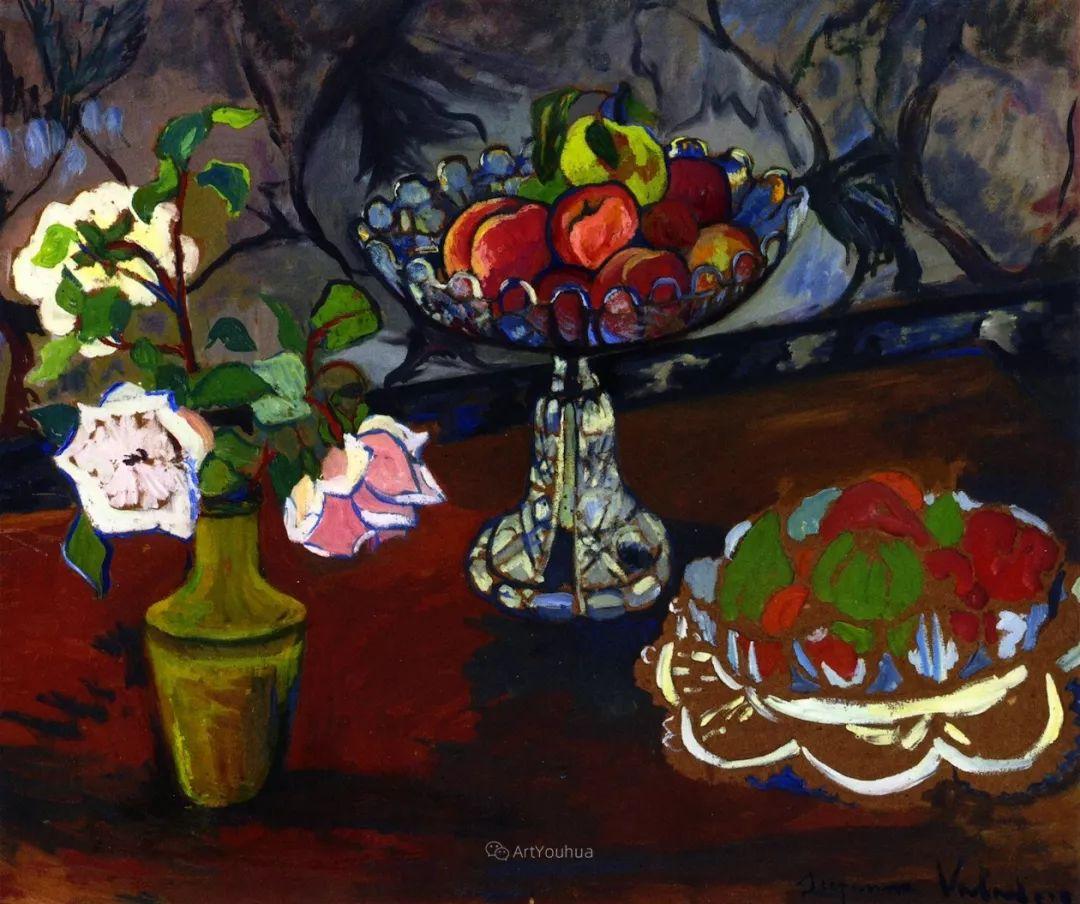 法国美术家协会第一个女性成员——苏珊娜·瓦拉东插图17