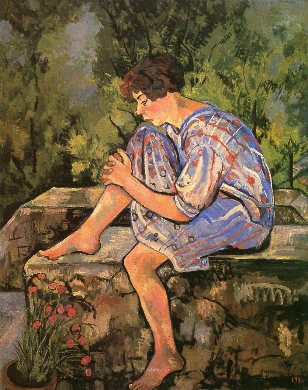 法国美术家协会第一个女性成员——苏珊娜·瓦拉东插图21