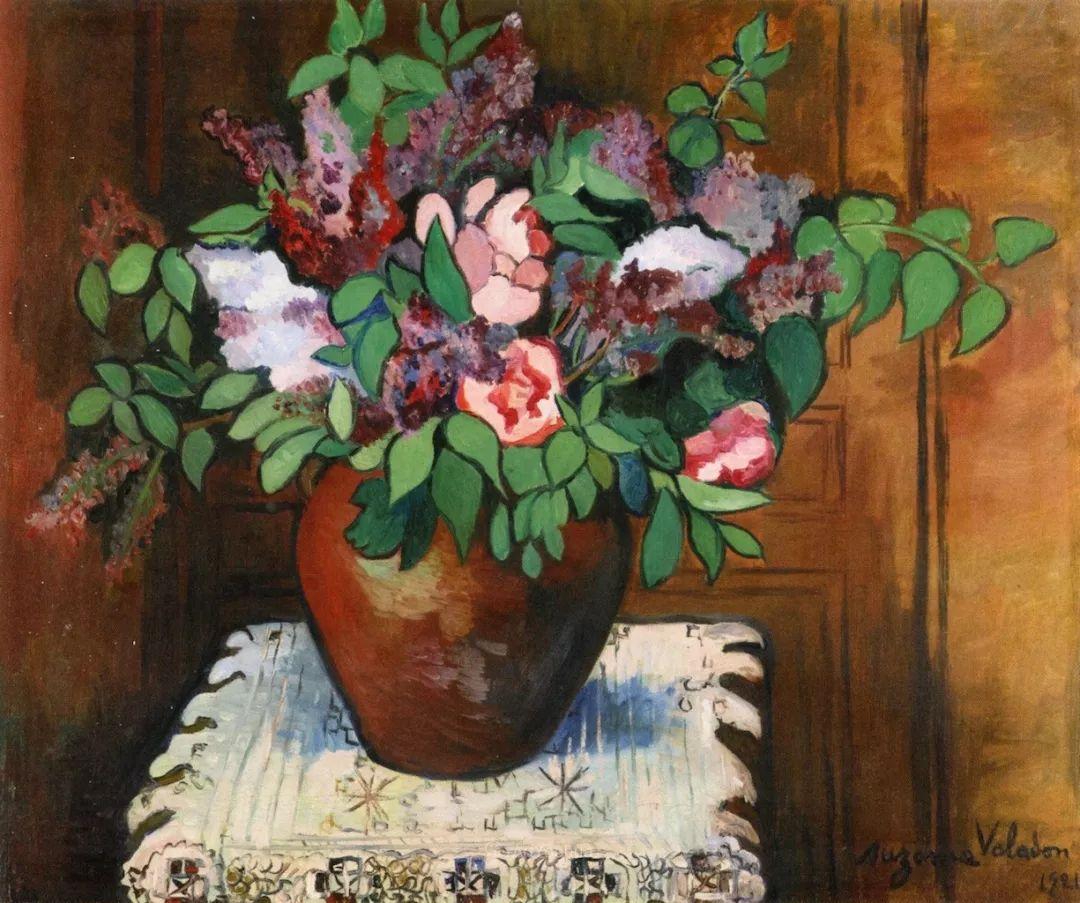 法国美术家协会第一个女性成员——苏珊娜·瓦拉东插图31
