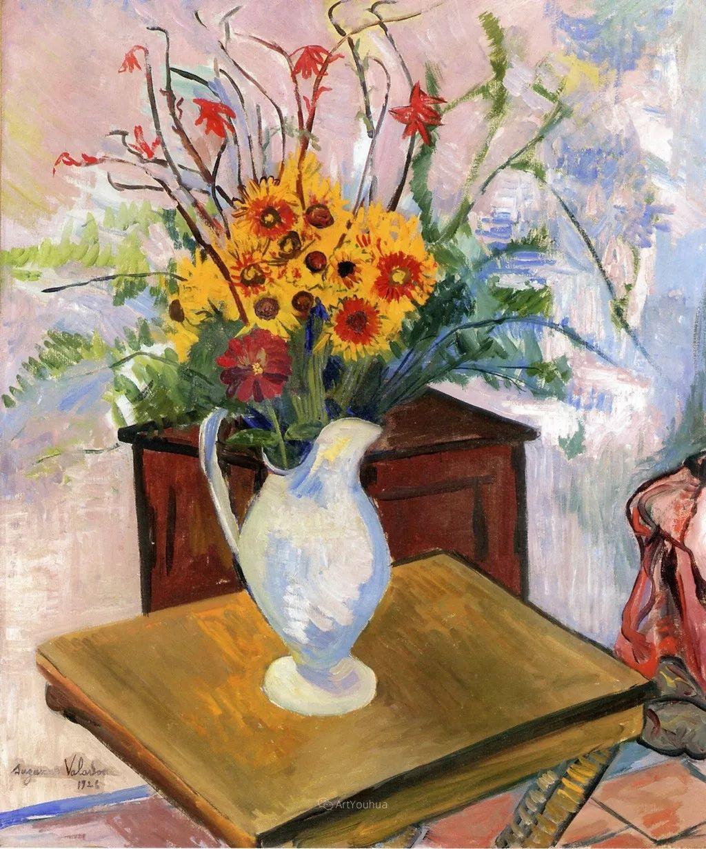 法国美术家协会第一个女性成员——苏珊娜·瓦拉东插图35