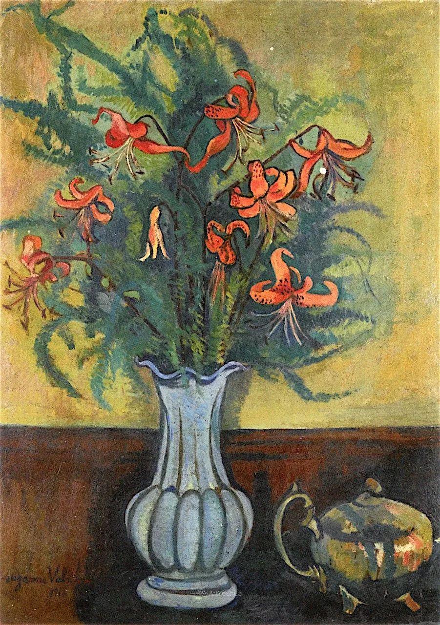 法国美术家协会第一个女性成员——苏珊娜·瓦拉东插图37
