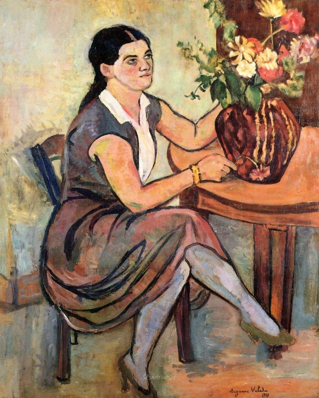 法国美术家协会第一个女性成员——苏珊娜·瓦拉东插图39