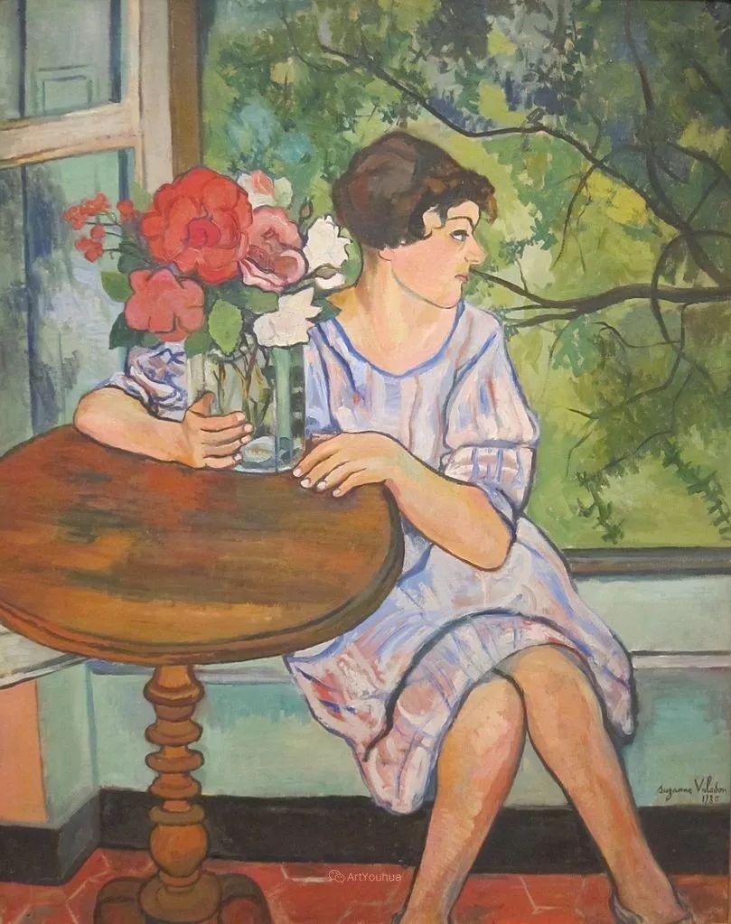 法国美术家协会第一个女性成员——苏珊娜·瓦拉东插图51