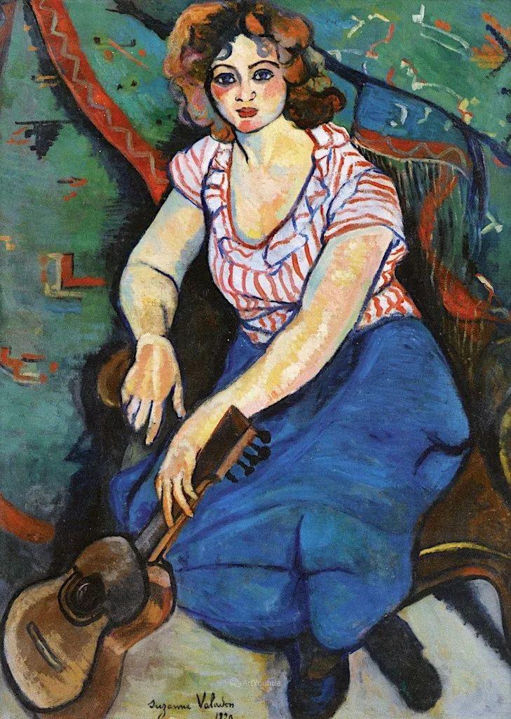 法国美术家协会第一个女性成员——苏珊娜·瓦拉东插图55