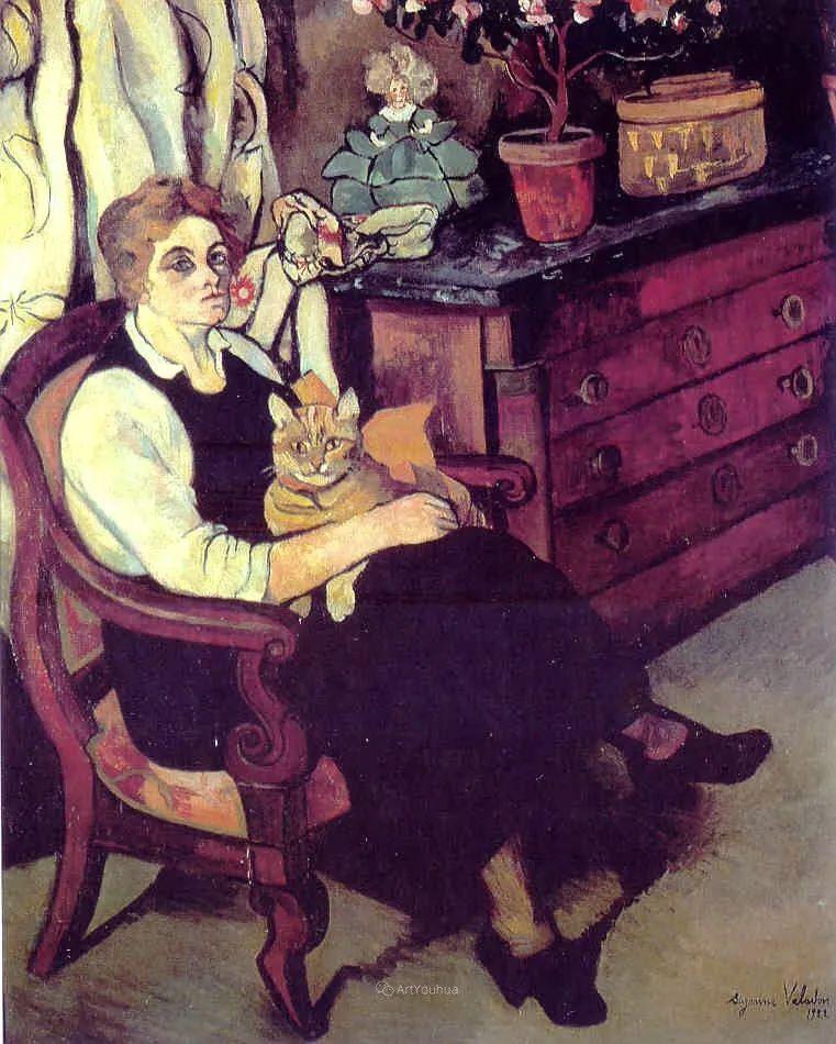 法国美术家协会第一个女性成员——苏珊娜·瓦拉东插图59