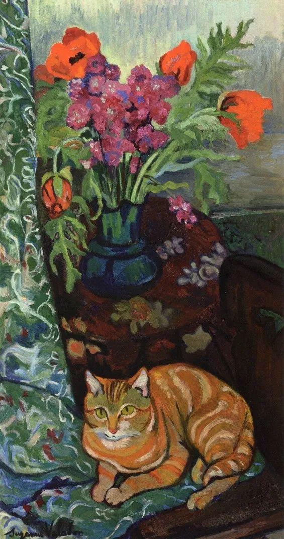 法国美术家协会第一个女性成员——苏珊娜·瓦拉东插图75