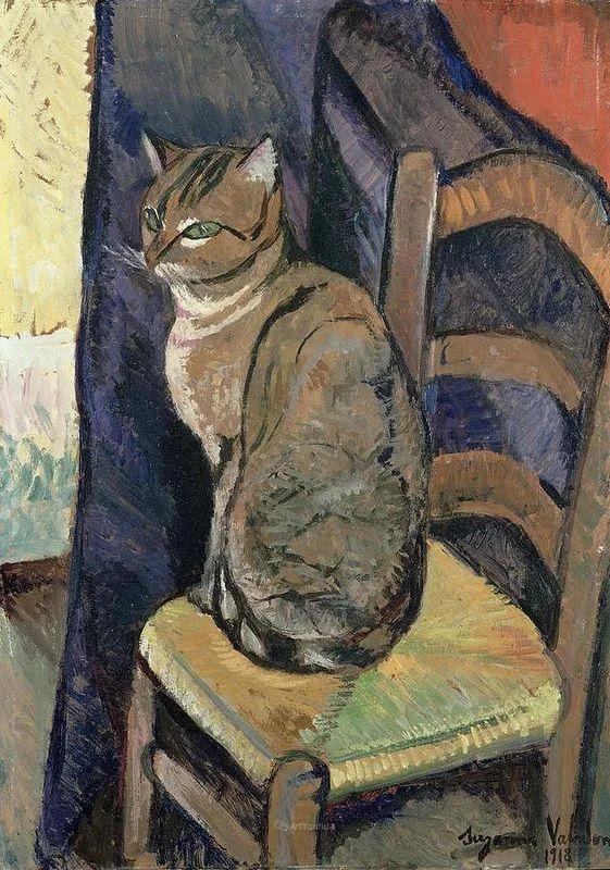 法国美术家协会第一个女性成员——苏珊娜·瓦拉东插图83