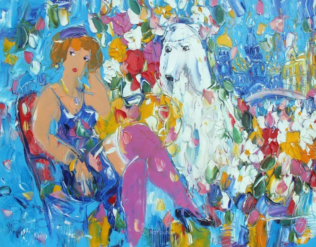 天真抒情表现主义,Sergey Kotinov和Galina Kotinova作品欣赏插图