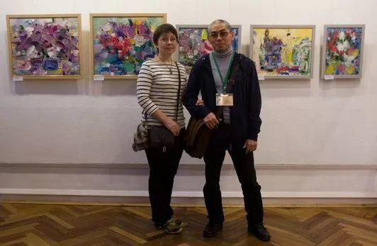 天真抒情表现主义,Sergey Kotinov和Galina Kotinova作品欣赏插图1