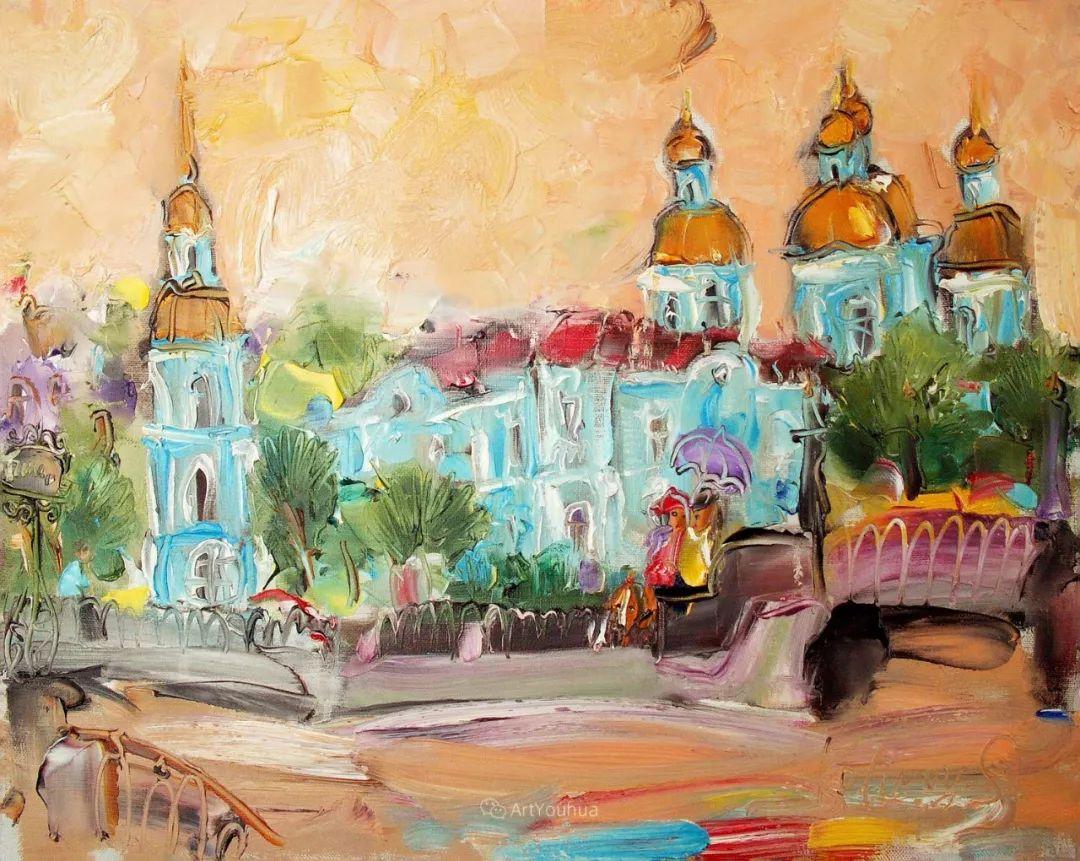 天真抒情表现主义,Sergey Kotinov和Galina Kotinova作品欣赏插图4
