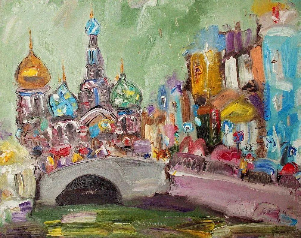 天真抒情表现主义,Sergey Kotinov和Galina Kotinova作品欣赏插图5