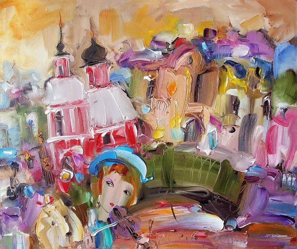 天真抒情表现主义,Sergey Kotinov和Galina Kotinova作品欣赏插图8