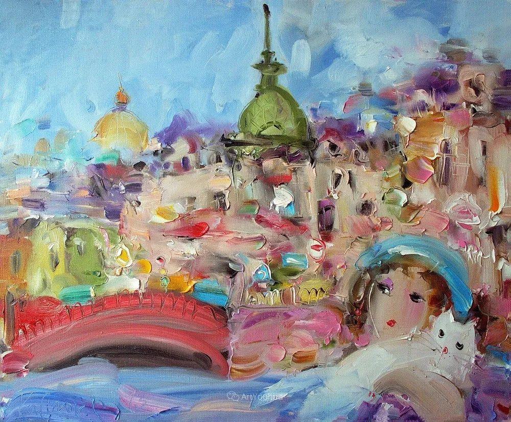 天真抒情表现主义,Sergey Kotinov和Galina Kotinova作品欣赏插图9