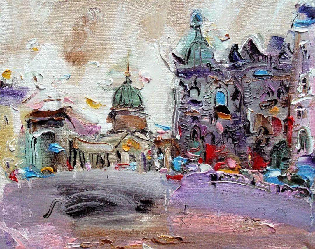 天真抒情表现主义,Sergey Kotinov和Galina Kotinova作品欣赏插图10