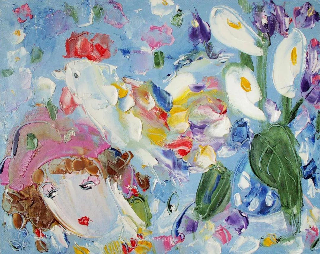 天真抒情表现主义,Sergey Kotinov和Galina Kotinova作品欣赏插图12