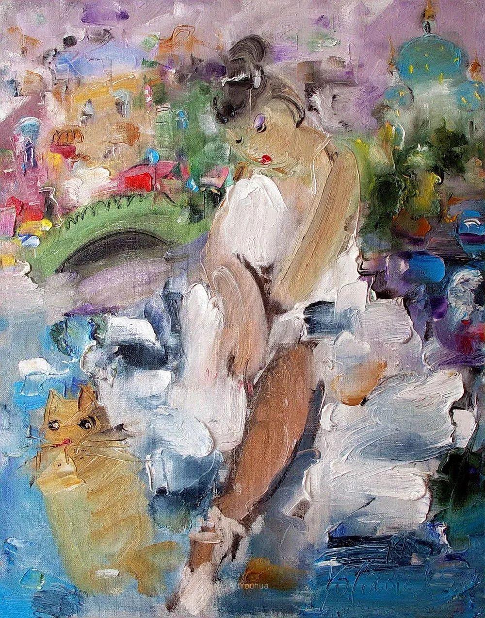 天真抒情表现主义,Sergey Kotinov和Galina Kotinova作品欣赏插图15