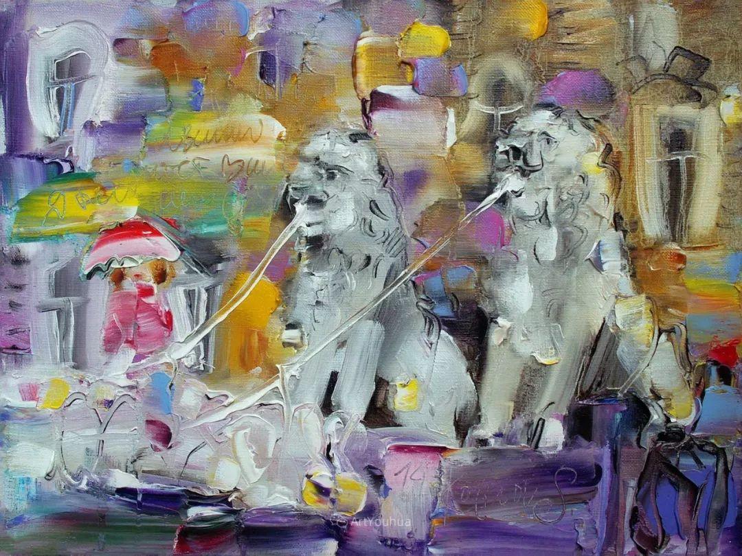 天真抒情表现主义,Sergey Kotinov和Galina Kotinova作品欣赏插图19