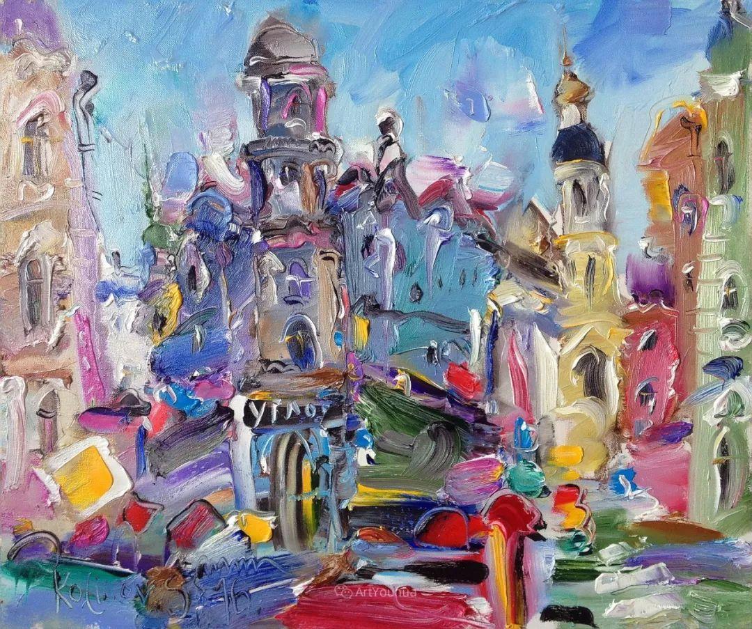 天真抒情表现主义,Sergey Kotinov和Galina Kotinova作品欣赏插图21